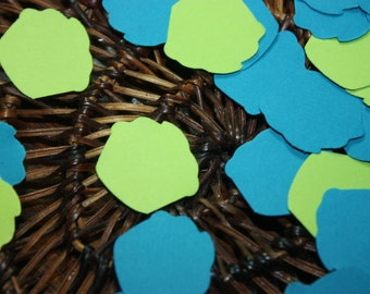 200 Cupcake Confetti-Table Confetti-Birthday-Baby Shower-Die Cut-Cutout-Boy or Girl- COLOR CHOICES AVAILABLE