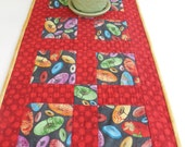 Orientarl Umbrella Table Runner-Revsersible-Free Shipping to US and Canada