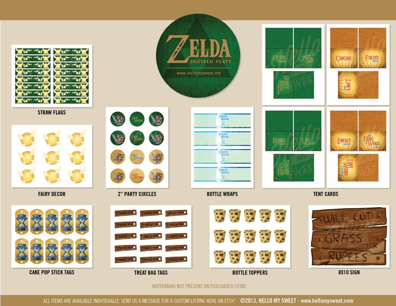Decoration Anniversaire Zelda