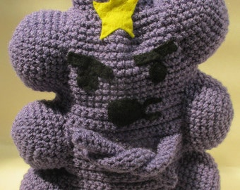 Crochet LSP Lumpy Space Princess Adventure Time Cafetiere/French Press/Bodum Coffee Cosy