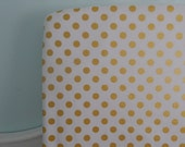 CustomBedding - Coral and Gold