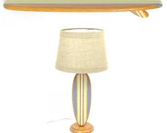 Surfboard Lamp & Surfboard Shelf Combo