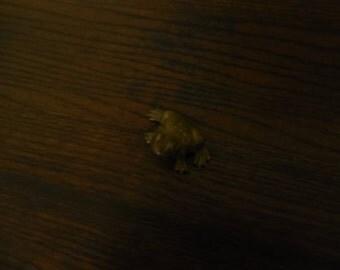 Brass Frog Figure