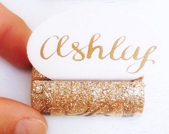 Gold Glitter Place Card Holder, Place Card Holder Gold, Wine Tasting Party, Wine Theme Wedding, Wine Themed Bridal Shower, Wine Theme Decor