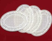 Ivy Oval Sewing Cards : Set of 4 cross stitch Tokens and Trifles 20 ct. perforated paper Valentine's Day Mother's Day cards