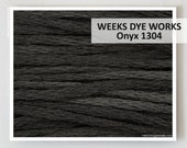 ONYX 1304 Weeks Dye Works WDW hand-dyed embroidery floss cross stitch thread at thecottageneedle.com