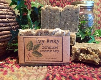 Old Fashioned Ivy Away Poison Ivy Treatment Bar Soap- Also great for Poison Oak, Sumac, insect bites! All Natural