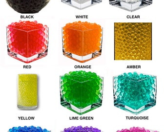 Jelly Water Beads Vase Fillers (Read or Contact Us First)