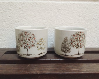 vintage Sake cups