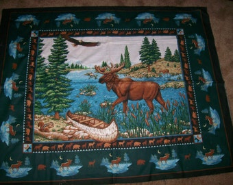 Wildlife Moose Panel