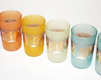 Charming Vintage Juice Glasses