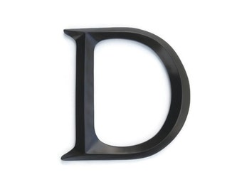 "Letter ""D"" Sign - Large Letter D Wall Decor - Gallery Wall Decor - Photo Prop - Wedding Gift SID70"