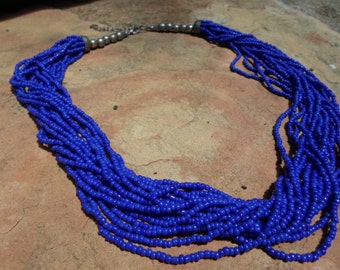 Vintage seed Bead Necklace