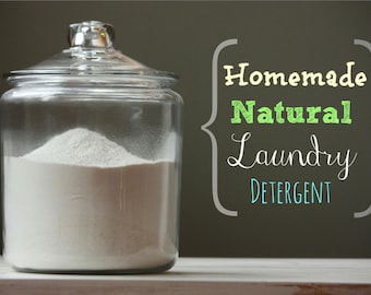 Make Your Own Powered Soap for Laundry and More Tutorial