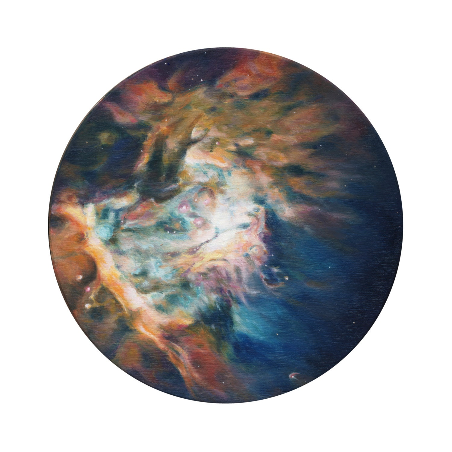 Orion Nebula Print of Oil Painting