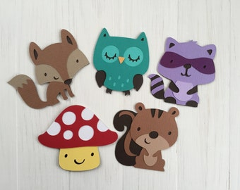 Forest Friends Magnet Set