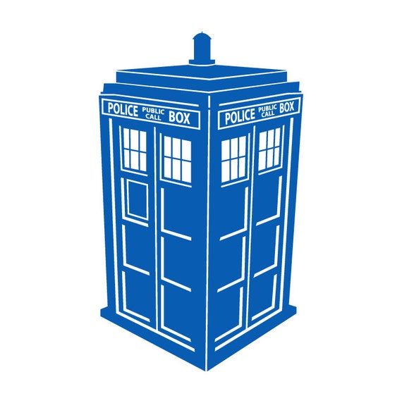 tardis vinyl wall decal by wildgreenrose on etsy