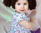 Cabbage Patch Doll Hat,