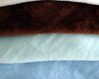 Embroidery Blanks - Lovie Minky Blanket - Lovey Minky Blanket