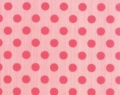 Mama Said Sew Dots in Pink, Sweetwater, Moda Fabrics, 100% Cotton Fabric, 5497 37