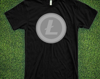 Litecoin logo CRYPTOCURRENCY SHIRT