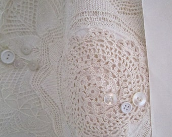White/Ivory Pillowcase Dress