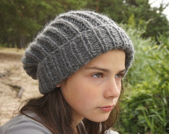 handmade knitted hat for women and teen or men