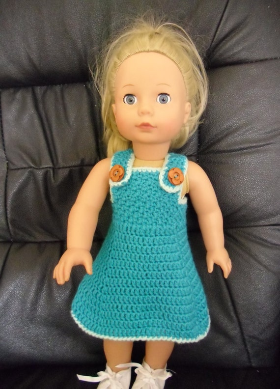 Crochet Pattern For Dress And Shawl For 18 Inch Doll