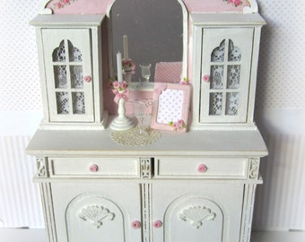 Dresser Hand painted for dollhouses. scale 1.12