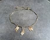 Leaf anklet: Custom