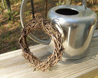 Handmade Grapevine Wreath, Chew Toy for Rabbits, Chew Ring for Small Animals
