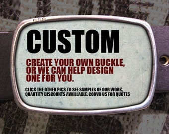 Custom Belt Buckle - Specialzed Belt Buckle CUS