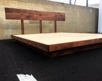 Mid century modern bed, mid century modern platform bed