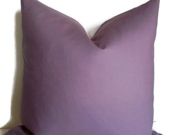 Purple Pillow Cover Dark Purple Pillow 16 18 20