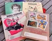 Vintage French School Children's Book Protectors