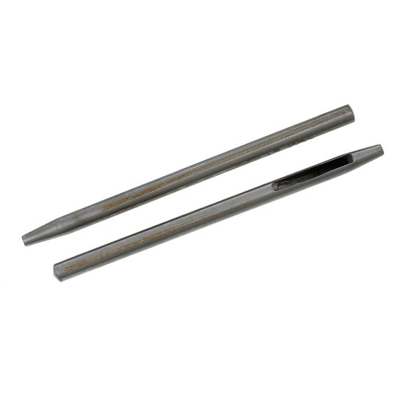 Paper Rivet Tool : Stainless steel leathercraft rivet tools hole punch tool