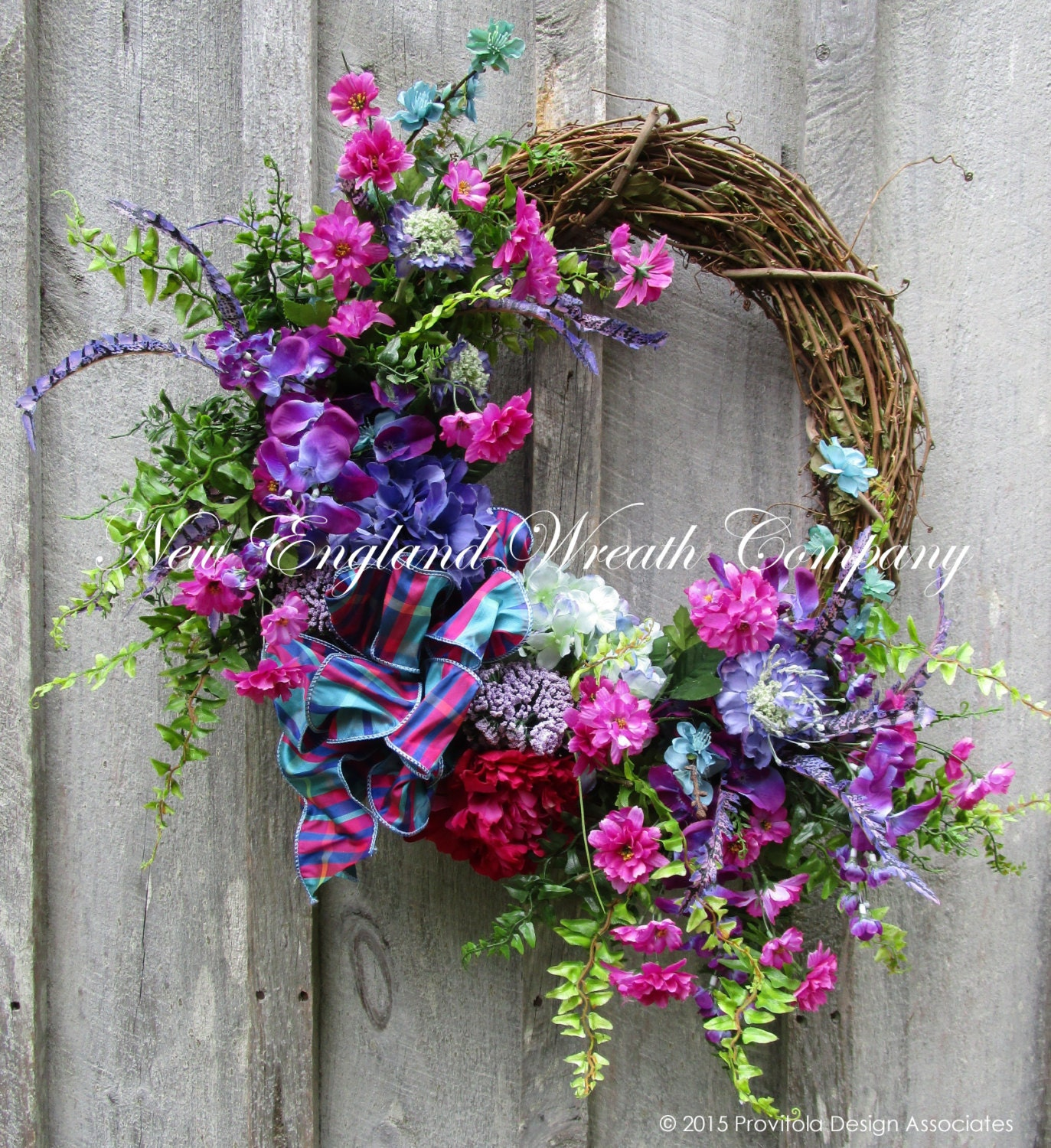 "Spring Flower Wreath (22"") : Target 