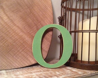 Stock Clearance - Sold As Is - Wooden Letters - Letter O - 5""