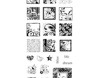 FLOURISHES INCHIES by INKADINKADO