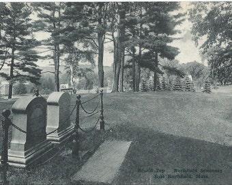 Round Top - Northfield Seminary - East Northfield, Massachusetts - Vintage Postcard