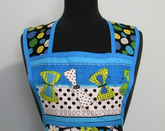 Womens Retro Apron-What a Whirl Butterflies-Retro-Style Apron