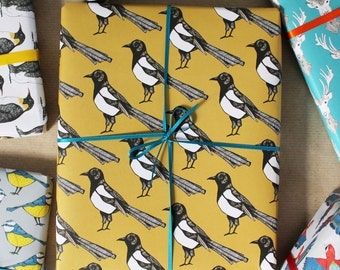Magpie Gift Wrap