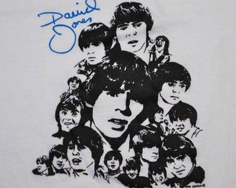 Davy Jones The Monkees Shirt 1980s vintage