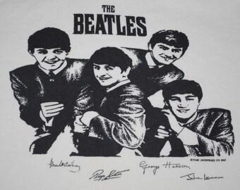 The Beatles NEMS Enterprises LTD Shirt 1963 vintage