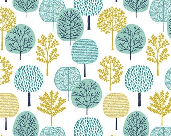 First Light - Forest Turquoise by Eloise Renouf from Cloud9 Fabrics
