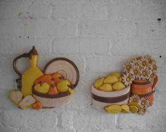 Vintage Syroco Wall Hangings
