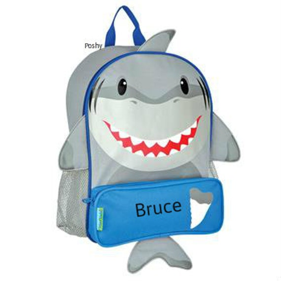Personalized Toddler Backpack Shark