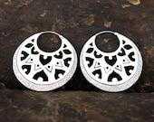 Chandra Silver Earring