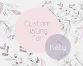 Custom listing for Katy