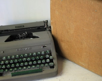 Royal Typewriter and Case